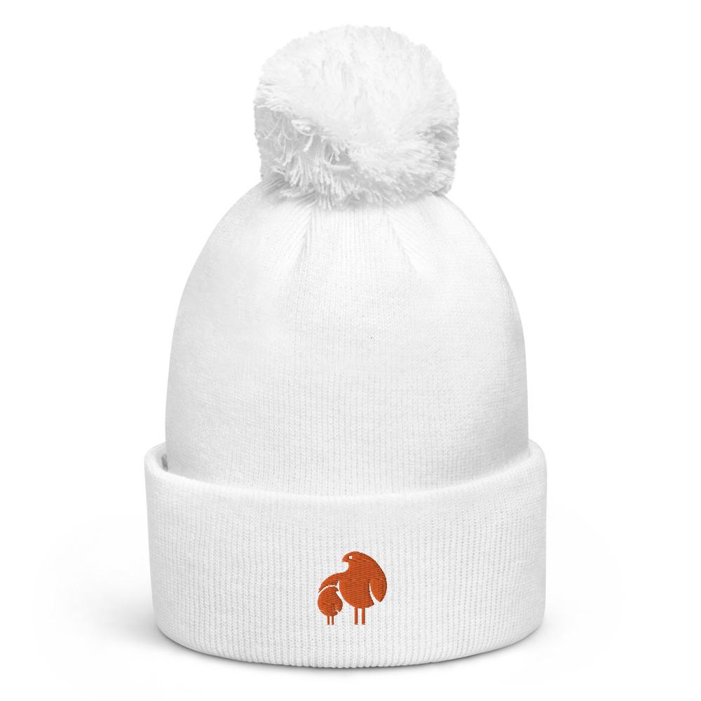 ポンポンニット帽